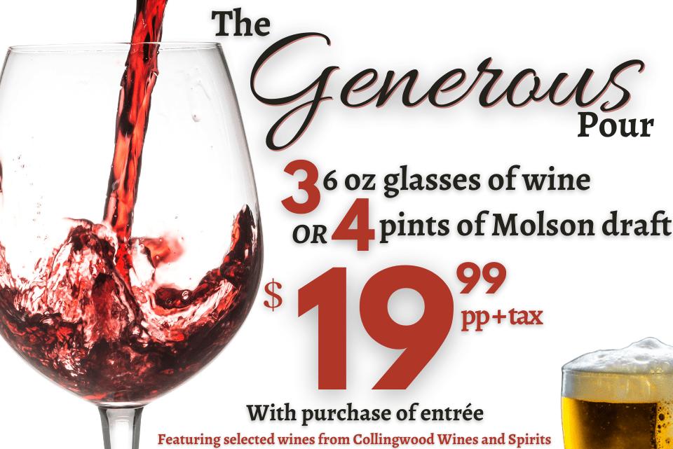 The Generous Pour